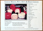 Soft and Hard Cheese Making Kit