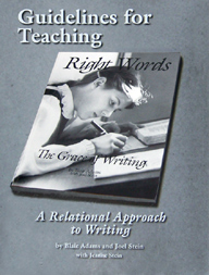 Guidelines for Teaching Right Words