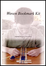 Beginning Weaving - Bookmark Loom